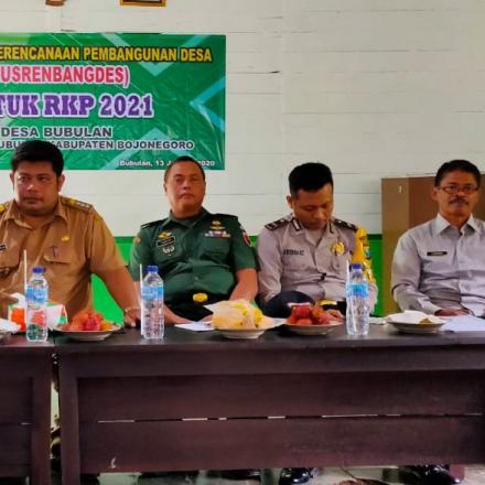 Musyawarah Perencanaan Pembangunan Desa (Musrenbangdes) Desa Bubulan Tahun 2020 Untuk Tahun 2021