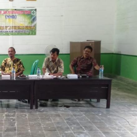 Musyawarah Masyarakat Desa (MMD)