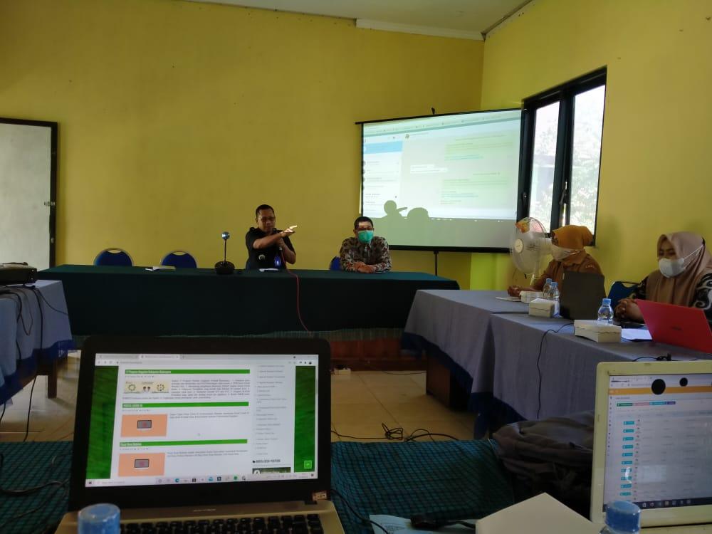 Penguatan SDM  TIK Melalui Pelatihan Sistem Informasi Desa (SID)