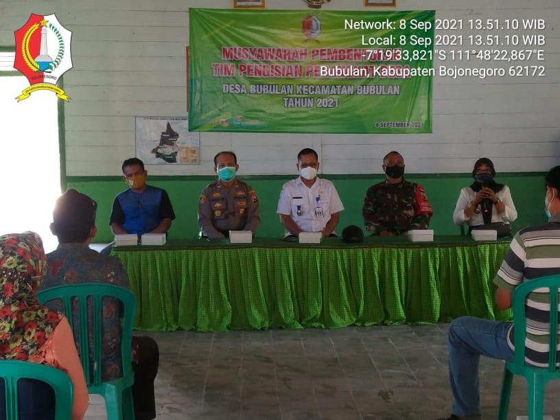Desa Bubulan membentuk Tim Pengisian Perangkat Desa